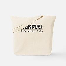 Hurdles Its What I Do Tote Bag