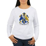 Stockport Family Crest Women's Long Sleeve T-Shirt