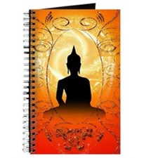 Buddha on mysical background Journal