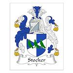 Stocker Family Crest Small Poster