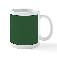 Solid Hunter Green Mugs