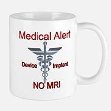 Medical Alert Device Implant NO MRI Asclepius Mugs