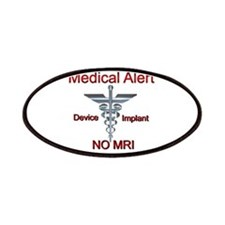Medical Alert Device Implant NO MRI Asclepiu Patch