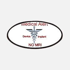 Medical Alert Device Implant NO MRI Asclepiu Patch