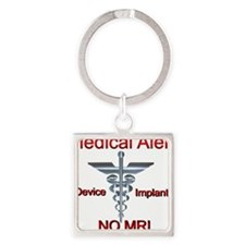 Medical Alert Device Implant NO MRI Ascl Keychains