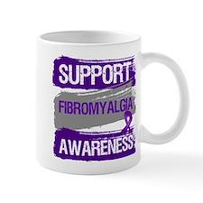 Support Fibromyalgia Awareness Mugs