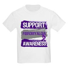 Support Fibromyalgia Awareness T-Shirt