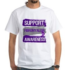 Support Fibromyalgia Awareness T-Shirt