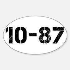 10-87 Decal