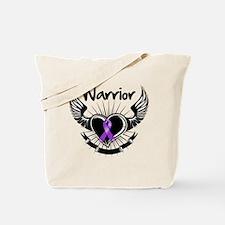 Fibromyalgia Warrior Tote Bag