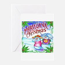 Marijuana Christmas Greeting Cards (Pk of 20)