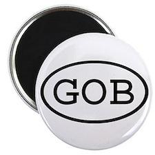 GOB Oval Magnet