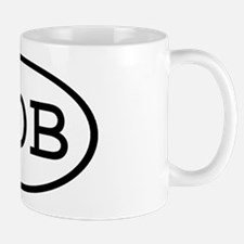 GOB Oval Mug