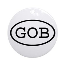 GOB Oval Ornament (Round)