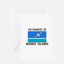 Famous Midway Islands Greeting Cards