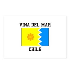 Vina del Mar, Chile Postcards (Package of 8)
