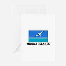 Midway Islands Greeting Cards