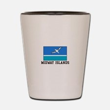 Midway Islands Shot Glass