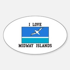 Love Midway Islands Decal