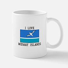 Love Midway Islands Mugs