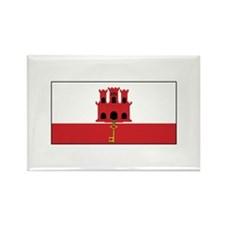 Gibraltar Flag Magnets