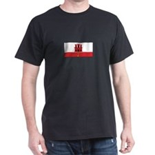 Gibraltar Flag T-Shirt