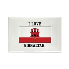 I Love Gibraltar Magnets