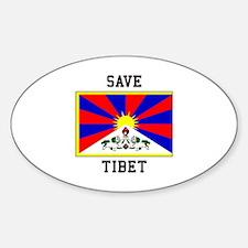 Save Tibet Decal