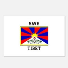 Save Tibet Postcards (Package of 8)