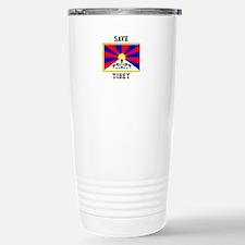 Save Tibet Travel Mug