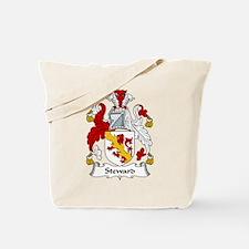Steward Family Crest Tote Bag