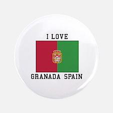 I Love Granada Button