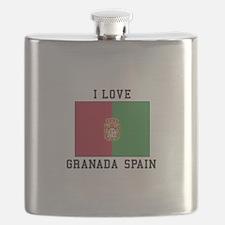 I Love Granada Flask