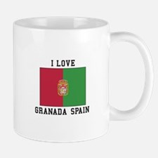 I Love Granada Mugs