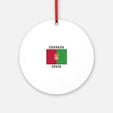 Granada Spain Ornament (Round)