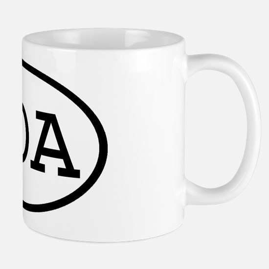 GOA Oval Mug