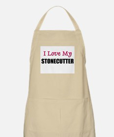 I Love My STONECUTTER BBQ Apron