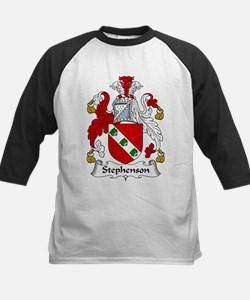 Stephenson Family Crest Kids Baseball Jersey