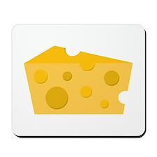 Block of Cheese Mousepad