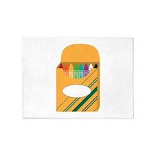 Box of Crayons 5'x7'Area Rug