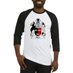 Steer Family Crest Baseball Jersey