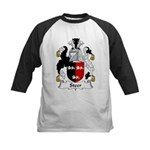 Steer Family Crest Kids Baseball Jersey
