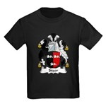 Steer Family Crest Kids Dark T-Shirt