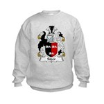 Steer Family Crest Kids Sweatshirt
