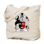 Steer Family Crest Tote Bag