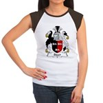 Steer Family Crest Women's Cap Sleeve T-Shirt