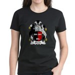 Steer Family Crest Women's Dark T-Shirt