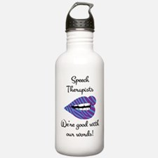 Good_With_Words Water Bottle
