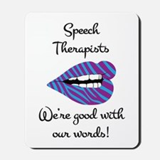 Good_With_Words Mousepad