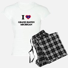 I love Grand Haven Michigan Pajamas